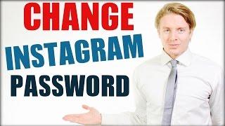How To Change Instagram Password 2016 Tutorial