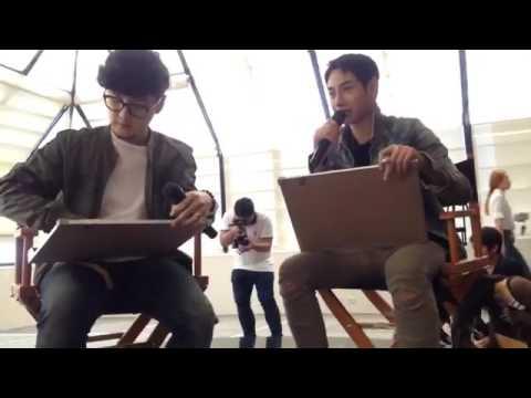 Live เฮีย#เป๊กผลิตโชค &ทอม เปิดตัว  Presenter คู่ใหม่ AIS  [23may2017]