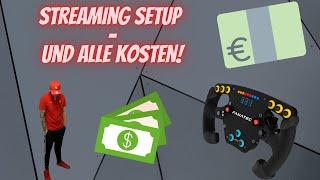 Mein F1 Streaming Setup - und was kostet das eigentlich alles? F1 2020 | Twitch | FANATEC