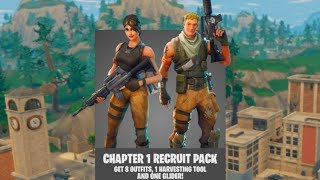 PACK ORIGINAL de DEFAULT SKIN de FORTNITE!?