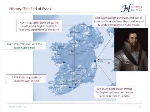 The Nine Years' War in Ireland (1594-1603)