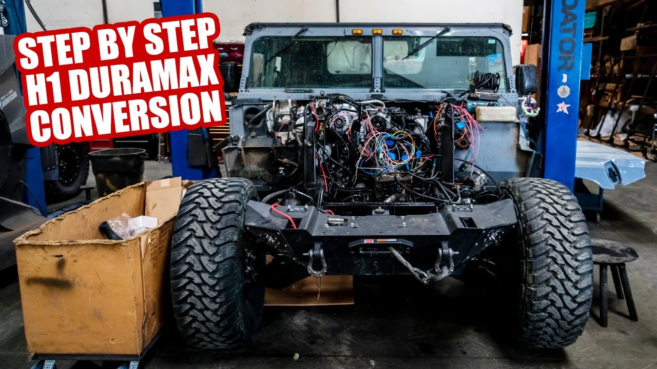 STEP BY STEP H1 DURAMAX CONVERSION