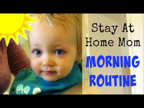 Morning Routine of a Stay At Home Mom | Daily Routines Collab Part 1