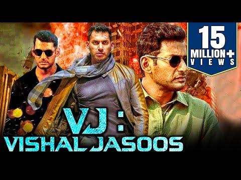VJ: Vishal Jasoos (2019) Tamil Hindi Dubbed Full Movie   Vishal, Samantha