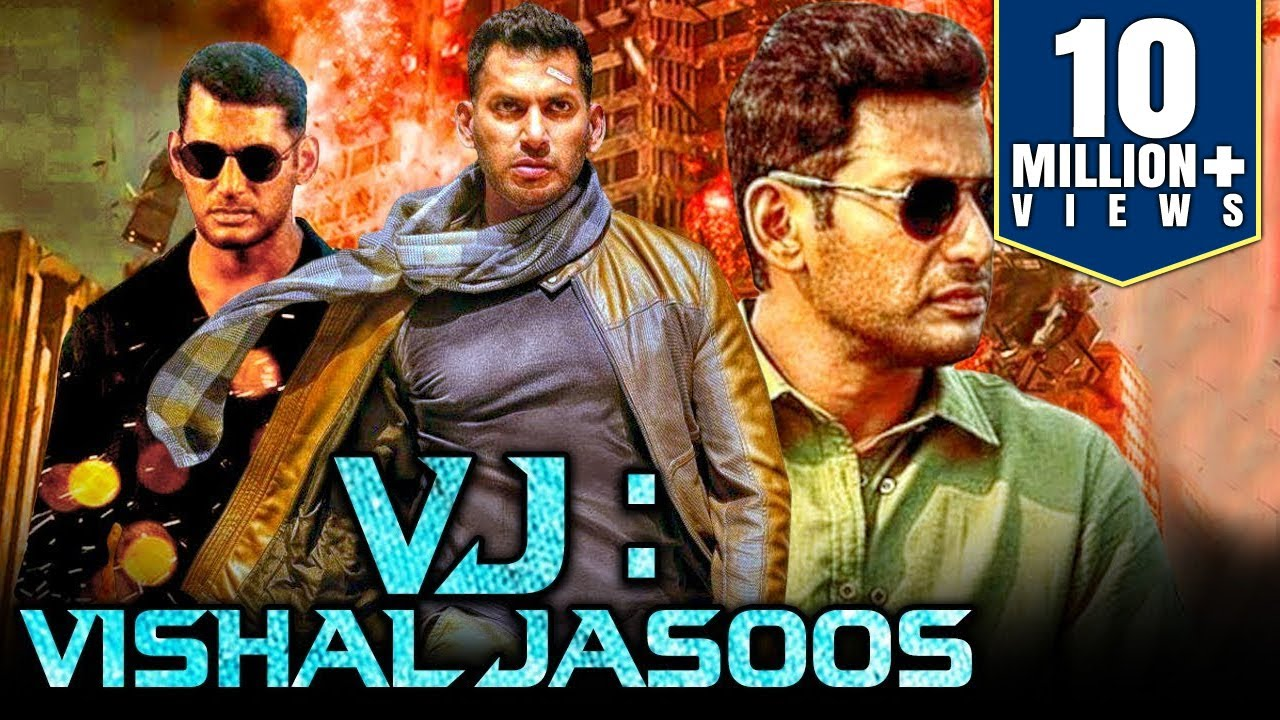Download VJ: Vishal Jasoos (2019) Tamil Hindi Dubbed Full Movie | Vishal, Samantha