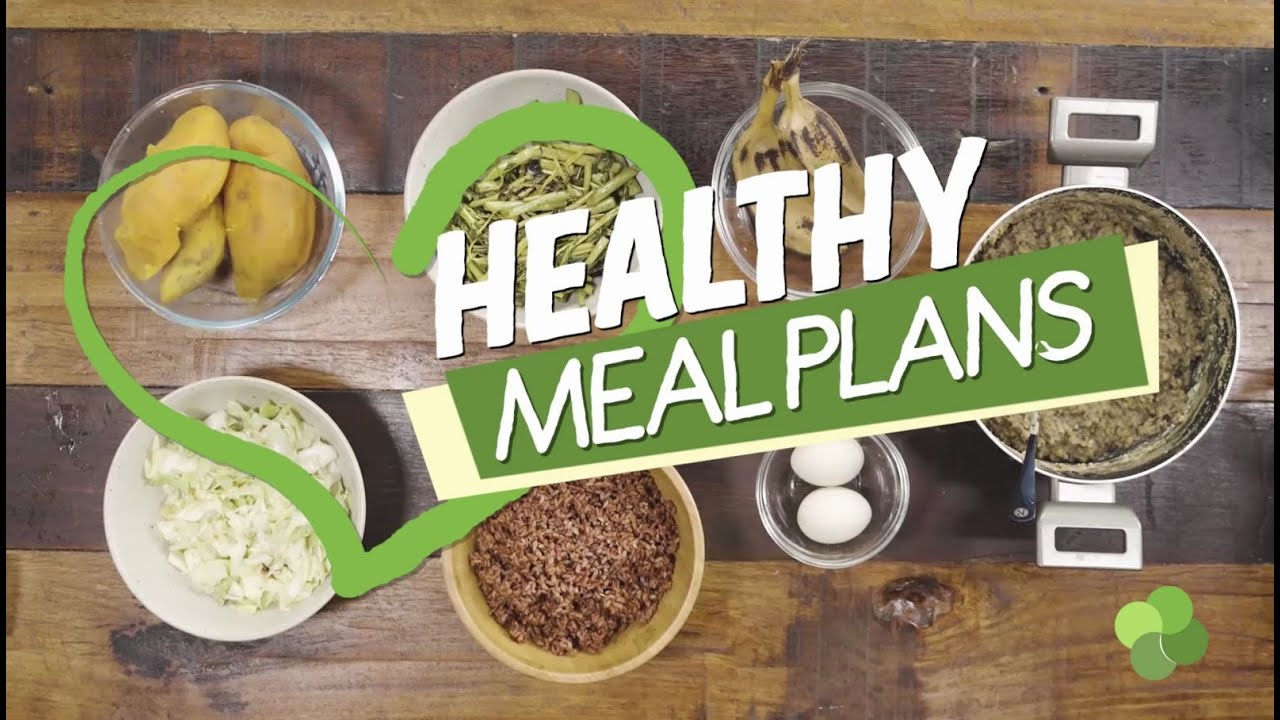 <div>Erwan's Healthy Meal Plan</div>