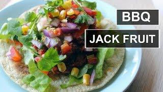 "BBQ JACKFRUIT ""PULLED PORK"" || VEGAN TORTILLAS || HEALTHY"