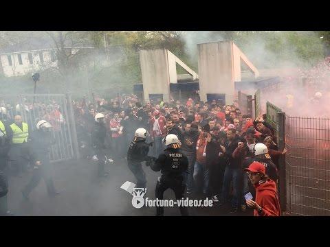 Derby-Chaos in Duisburg (MSV Duisburg - Fortuna Düsseldorf 2:1, 29.04.2016)