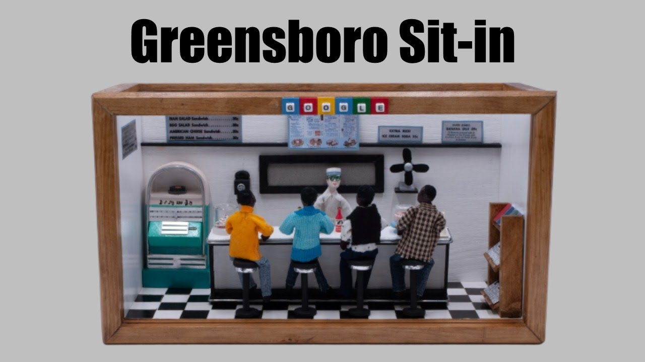 Google honors the 60th anniversary of Greensboro Sit-in w/ diorama ...