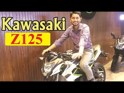 Kawasaki Z125 Now In Bangladesh - Specification & Price - Kawasaki Z125 Motorcycle Price In BD 2019