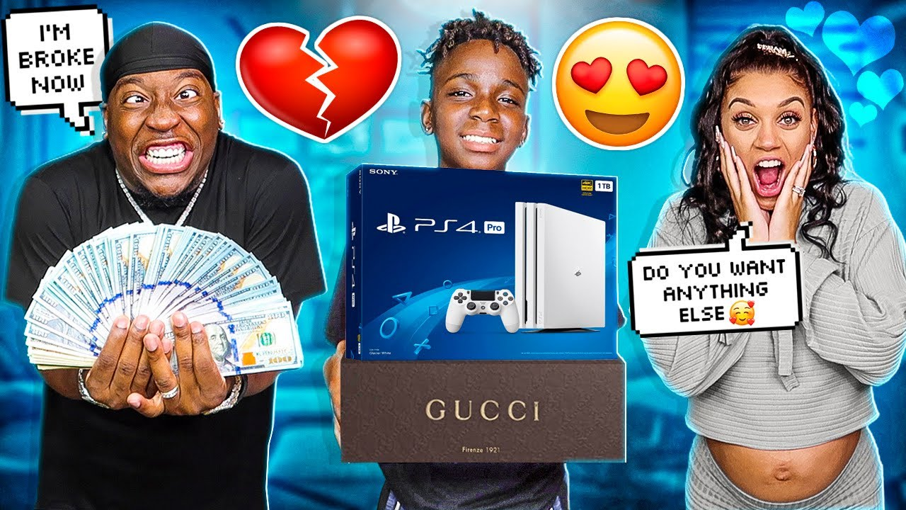 TAKING MY 12 YEAR OLD BROTHER DARION ON A $10,000 SHOPPING SPREE **HE STILL HAS A CRUSH ON BIANNCA**