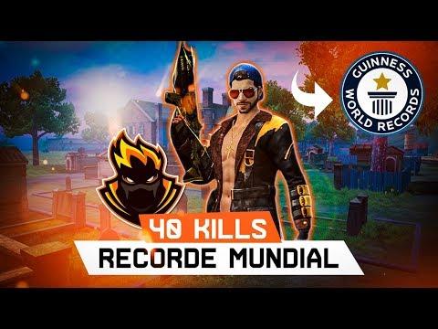 40 KILLS! RECORDE MUNDIAL SOLO VS SQUAD - MODO MATA-MATA! BLACKN444 FREE FIRE from YouTube · Duration:  10 minutes 13 seconds