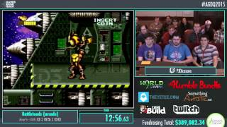 Awesome Games Done Quick 2015 - Part 88 - Battletoads (arcade) by PJ
