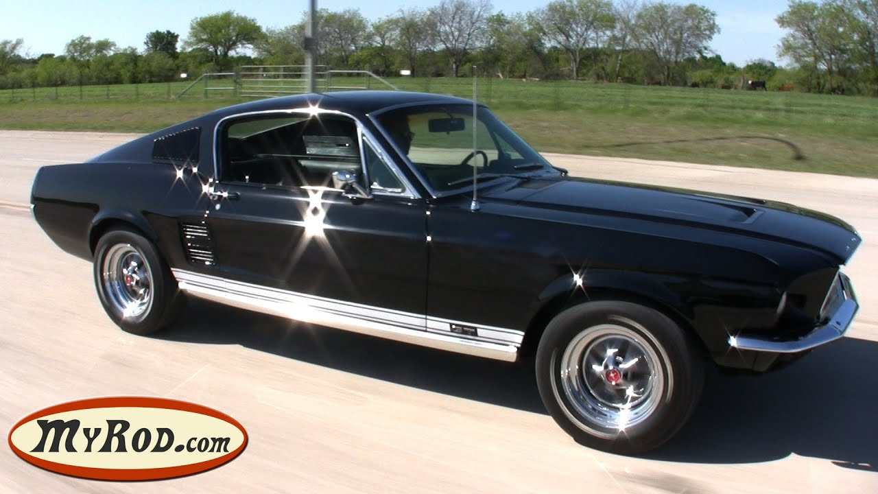 mustang gt 1967 a vendre gt fastback myrod com youtube. Black Bedroom Furniture Sets. Home Design Ideas