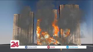 Đồ họa: Cháy chung cư Carina Q8 TPHCM| VTV24