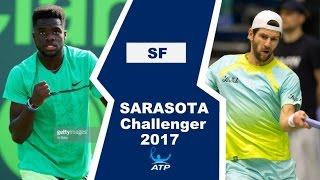 Francis Tiafoe vs Jurgen Melzer Highlights SARASOTA 2017