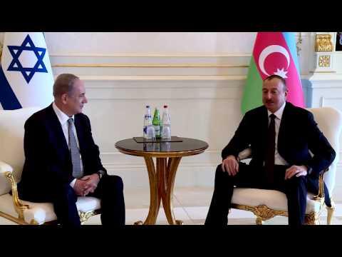 PM Netanyahu Meets President of Azerbaijan Ilham Aliyev