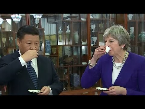 Meeting with China's Xi, Theresa May readies for post-Brexit Britain