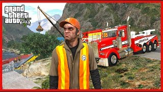 TOWING CARS FROM ACCIDENTS | HEAVY DUTY WRECKER (GTA 5 Mods)