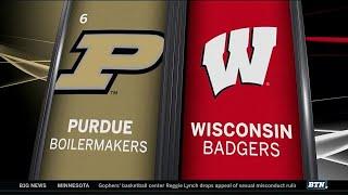 Purdue at Wisconsin - Men's Basketball Highlights