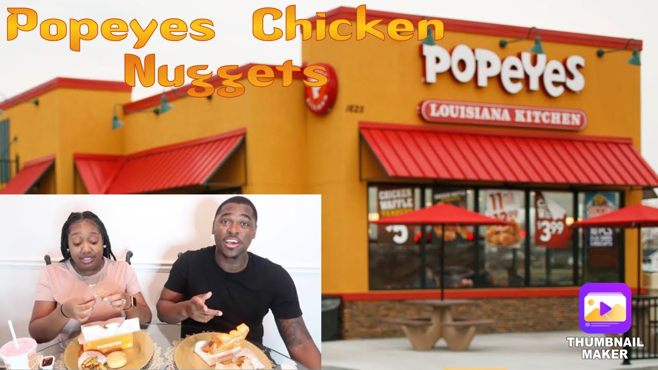 POPEYES CHICKEN NUGGETS REVIEW!!