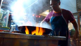 The 3rd Generation Charcoal Char Kueh Teow at Lebuh Kimberly, Penang