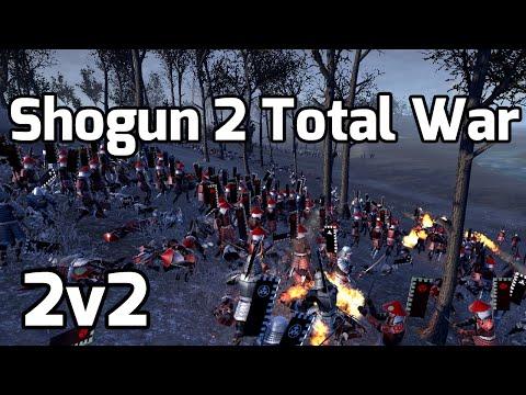 Shogun 2 Total War Online battle # 3 (2v2) - Cold Action! |