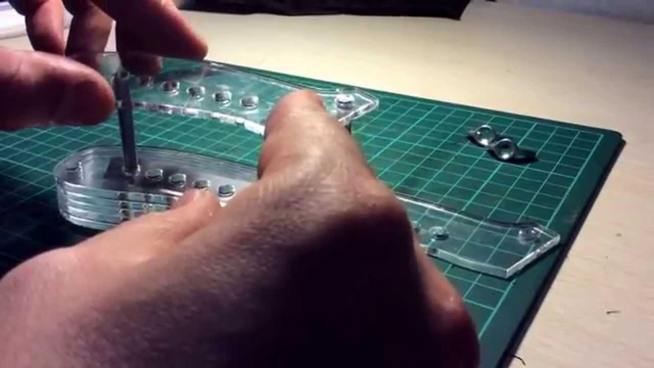Нож для нарезки полос из кожи - YouTube