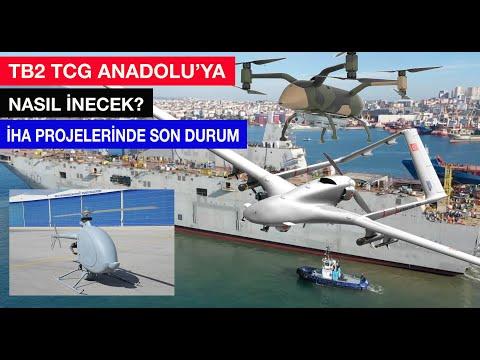 TB2 TCG Anadolu'ya nasıl inip kalkacak? Yeni İHA'lar: #albatros #anka+ #loyalwingman #ravnx