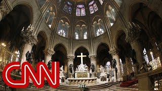 See a 360-degree look inside Notre Dame cathedral (2015)