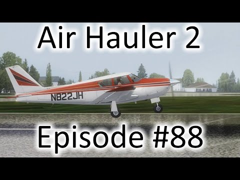 FSX | Air Hauler 2 Ep. #88 - Ice Ice Baby | PA-24 Comanche
