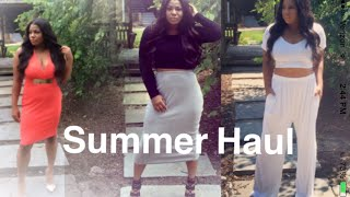 Summer Wardrobe Haul! Rebdolls, AshleyStewart and More!