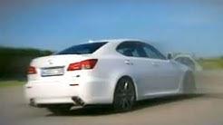 Tracktest Lexus ISF Patrick Simon zeigt, was der Lexus ISF f