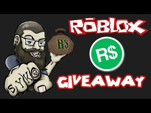 Robux give away live now