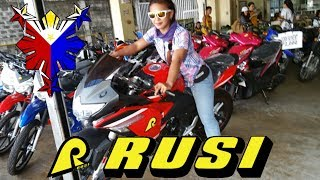 Rusi Motorcycle shopping  Dumaguete Philippines