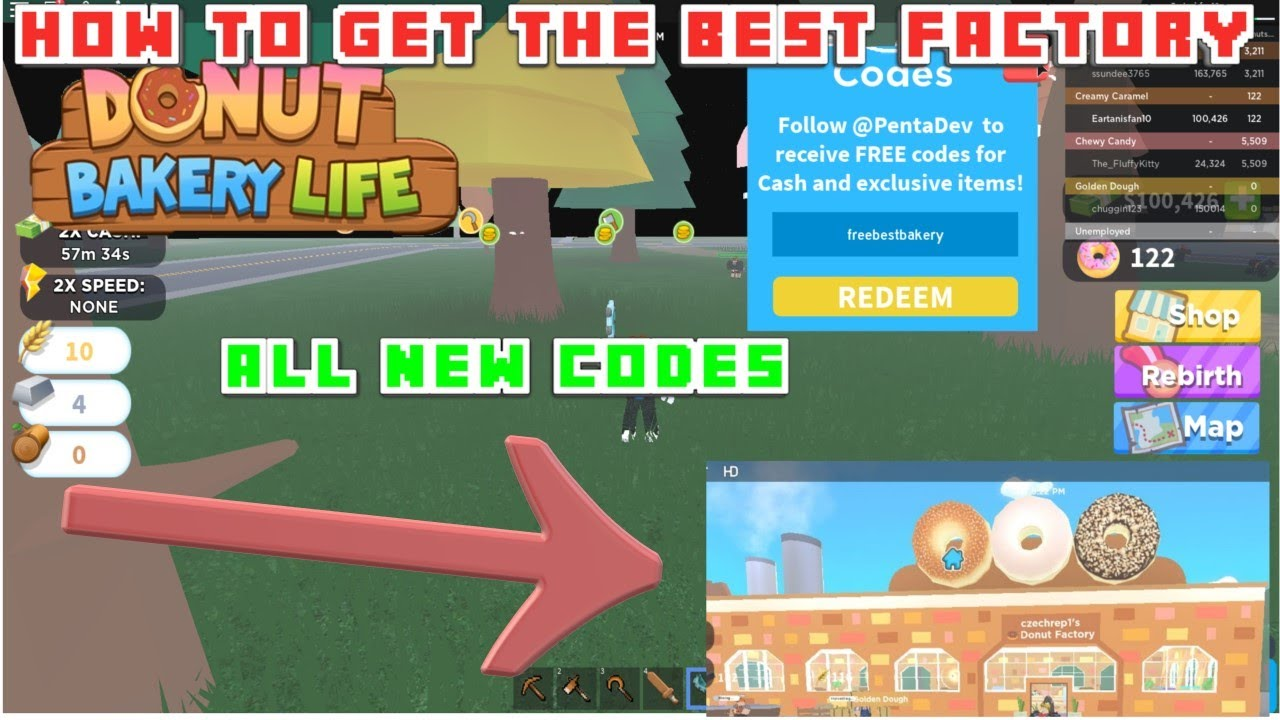 Game Dev Tycoon Codes Roblox Donut Bakery Tycoon All New July 2020 Codes Youtube