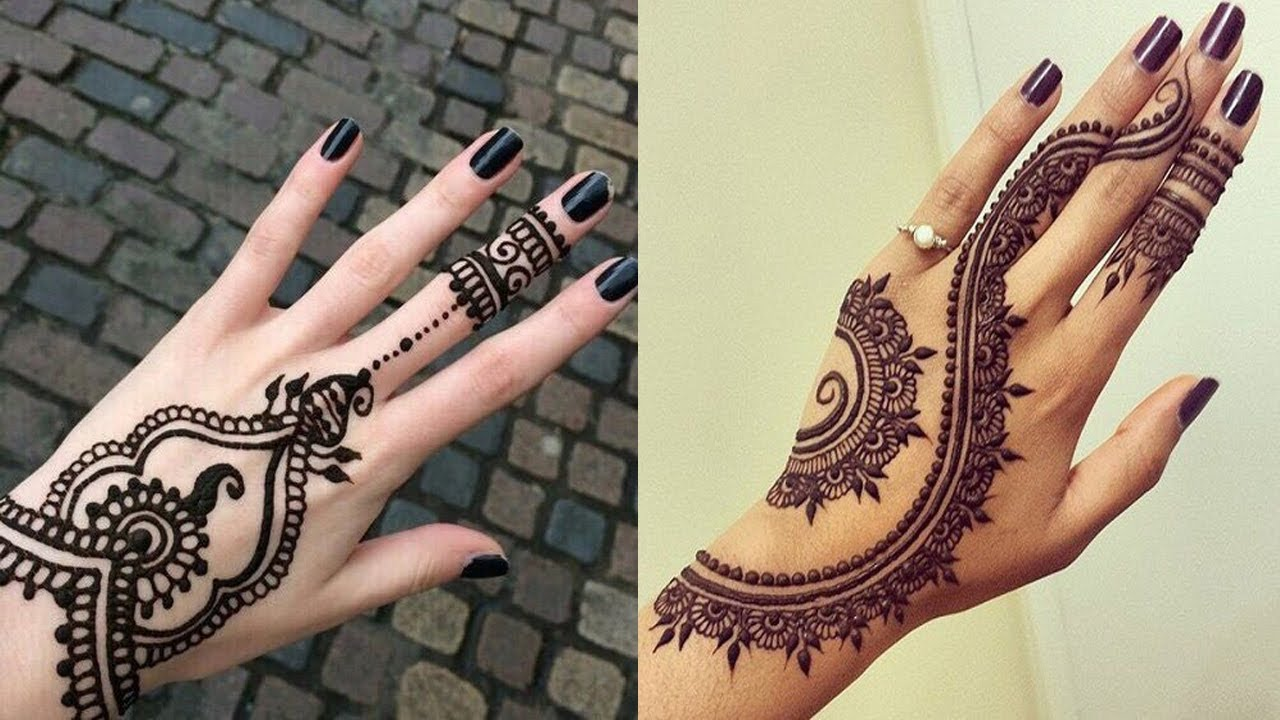 Latest Simple Arabic Mehndi Designs 2018 New Style Youtube