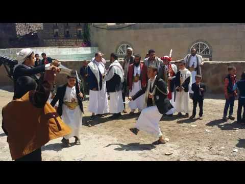 برع يمني في قرية الصفاء
