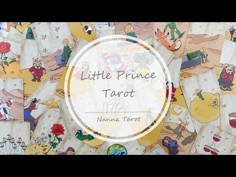 開箱  玫瑰小王子塔羅牌 • Little Prince Tarot // Nanna Tarot