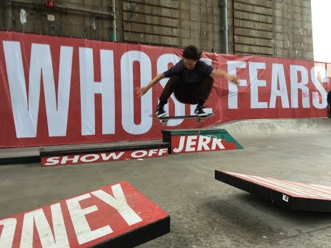 Barbara Kruger LES Skatepark Art+Heavy Discussion at Performa
