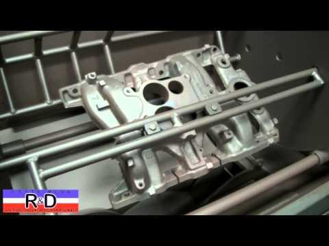 Pontiac Intake Manifold Thermal Cleaning
