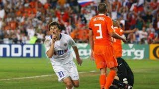 Россия Голландия 3:1 ЕВРО 2008 UEFA Euro 2008 Netherlands Russia