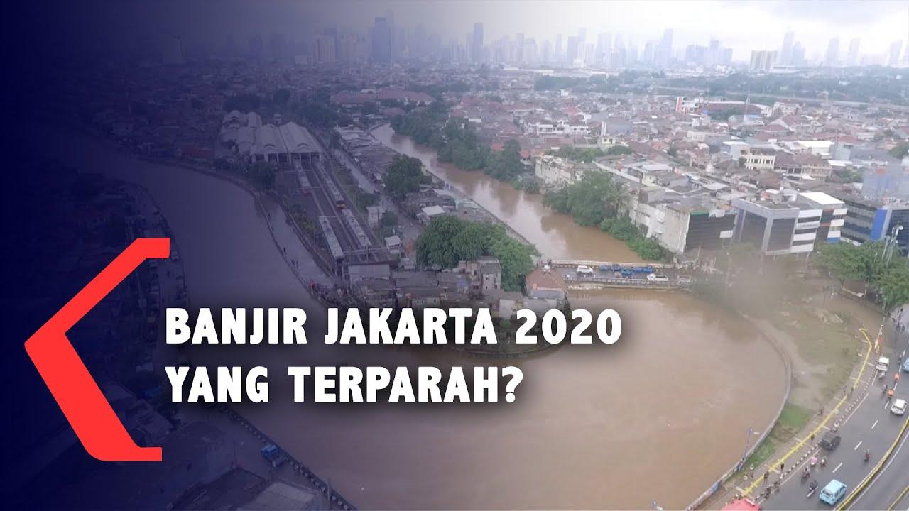 Banjir Jakarta 2020 Adalah Yang Terparah Youtube