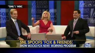 WATCH: Saturday Night Live Spoofs Fox and Friends!