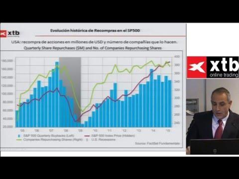 XTB Trading Barcelona: Análisis y perspectivas en índices de renta variable y divisas. Pablo Gil