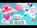 4 Ideas Originales para San Valentin - DIY Regalos y Útiles Escolares