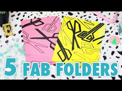 DIY Art: 5 Graphic Folder Designs - HGTV Handmade