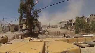 ВОЙНА В СИРИИ  ТАНКОВЫЕ СРАЖЕНИЯ В ДАМАСКЕ Документальное видео