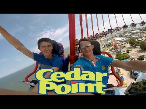 Cedar Point парк, Sandusky, Ohio. Work and Travel USA