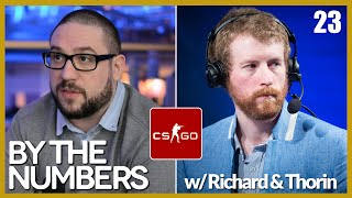 [E23] By The Numbers: CS:GO with Richard Lewis and Thorin | Alphadraft Podcast Episode 23